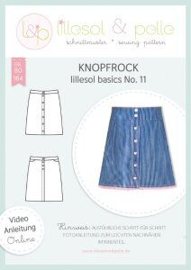 """Schnittmuster """"Knopfrock"""" by lillesol &..."""